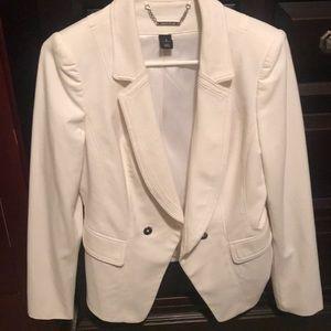 White jacket blazer sports coat